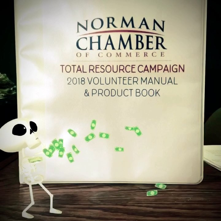 We're scary close to the TRC 2018 deadline. Don't be spooked to reach out to Michelle before Nov. 21st for amazing opportunities to promote your business through the Chamber and NEXT! Email her today at Michelle@normanchamber.com or call 321-7260